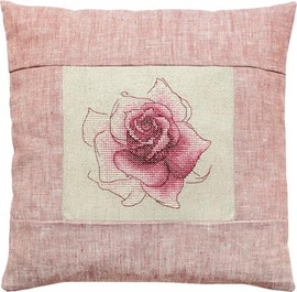 Rose Pillow Cross Stitch Kit by Luca-S