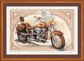 Harley Davidson Cross Stitch Kit by Riolis