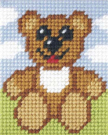 Happy Ted Needlepoint Kit By Orchidea