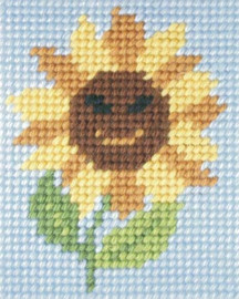 Sunny Sunflower Needlepoint kit By Orchidea