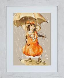Umbrella Cross Stitch Kit by Luca-S