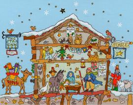 Cut Thru Nativity Cross Stitch Kit by Bothy Threads