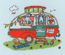 Sew Dinky Caravan Cross Stitch Kit by Bothy Threads