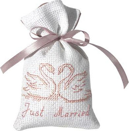 Swans Bag Cross Stitch Kit by Luca-S
