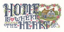 Heart of Home Cross Stitch Chart By Joan Elliott