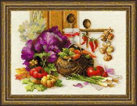 Rich Harvest Cross Stitch Kit by Riolis