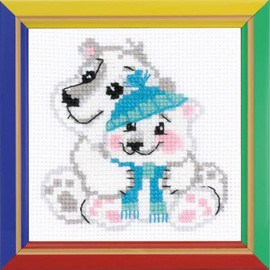 Younger Brother Cross Stitch Kit by Riolis