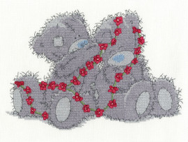 Daisy Chain Cross Stitch Kit by DMC