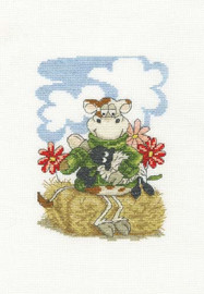 Feeding Time Cross Stitch Kit by DMC