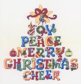 Joy Tree Cross Stitch Pattern By Ursula Michael