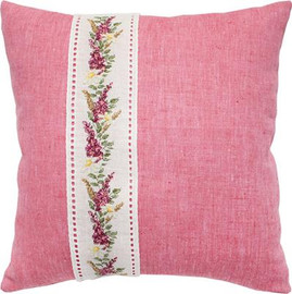 Harebell Band Cross Stitch Cushion Kit by Luca-S
