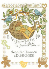 Perfect Gift - Cross Stitch Pattern - By Diane Arthurs