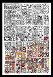 Zenbroidery - Cubist Cotton Fabric