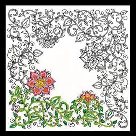 Zenbroidery - Garden Cotton Fabric