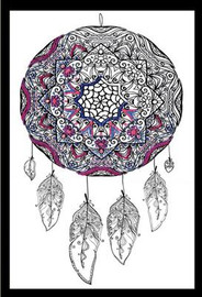 Zenbroidery - Dreamcatcher Cotton Fabric