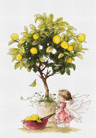 Lemons Cross Stitch Kit by Luca-S