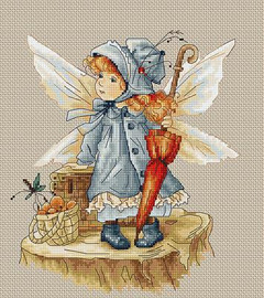 Picnic Fairy Cross Stitch Kit by Luca-S