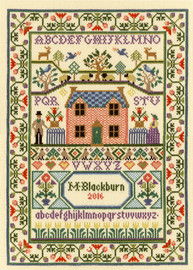 Country Cottage Cross Stitch Kit By Bothy Threads
