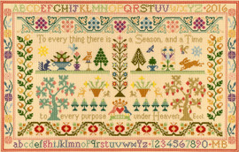 Season and Time Cross Stitch Kit By Bothy Threads