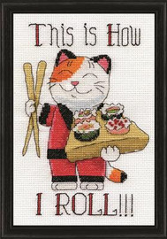 How I Roll Cross Stitch Kit by Design Works