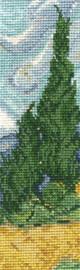 A Wheatfield, Bookmark Cross Stitch Kit By DMC