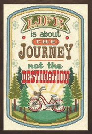 The Journey Cross Stitch Kit by Design Works