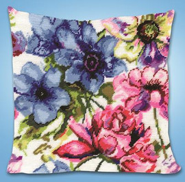 Watercolour Floral Tapestry Kit by Design Works