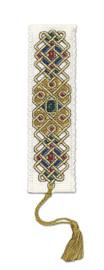 Celtic Jewel Bookmark Cross Stitch Kit by Textile Heritage