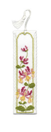 Honeysuckle Bookmark Cross Stitch Kit by Textile Heritage