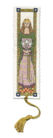 Medieval Queen Bookmark Cross Stitch Kit by Textile Heritage