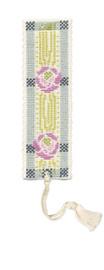 Mackintosh Rose Bookmark Cross Stitch Kit by Textile Heritage
