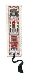 Streets of London Bookmark Cross Stitch Kit by Textile Heritage