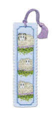 Wee Woolly Sheep Bookmark Cross Stitch Kit by Textile Heritage