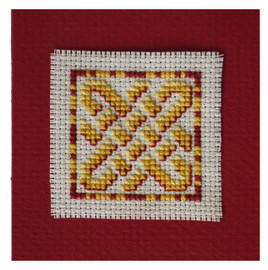 Celtic Knot Keepsake Cross Stitch Kit by Textile Heritage
