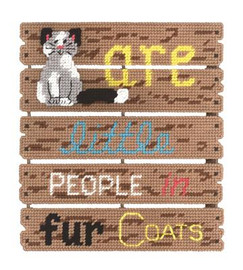 Cats Are Plastic Canvas Kit