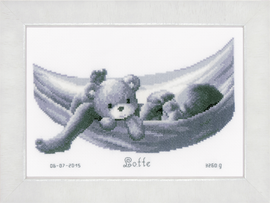 Baby in Hammock Cross Stitch Kit By Vervaco