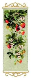 Strawberry Cross Stitch Kit by Riolis