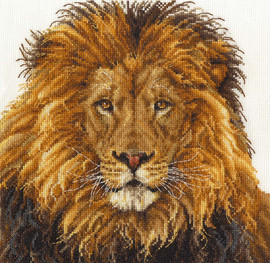 Lion's Pride Cross Stitch Kit By DMC
