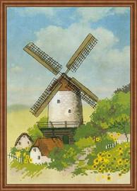 Windmill Cross Stitch Kit by Riolis