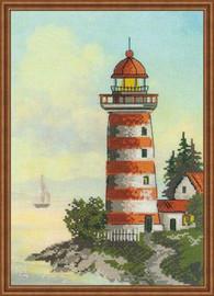Lighthouse Cross Stitch Kit by Riolis
