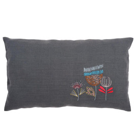 Stylised Flowers Rectangle 2 Embroidery Cushion Kit By Vervaco