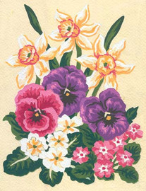 Spring Florals Canvas only By Grafitec
