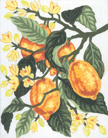 Lemons Canvas only By Grafitec