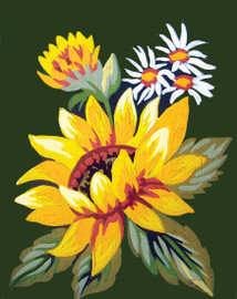 Sunflower Canvas only By Grafitec