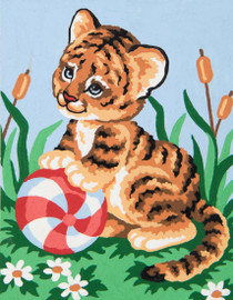 Tiger Cub Canvas only By Grafitec