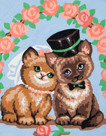 Kitty Love Canvas only By Grafitec