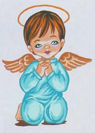 Angel Boy Canvas only By Grafitec