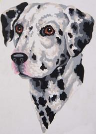 Dalmatian Canvas only By Grafitec
