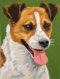 Terrier Canvas only By Grafitec