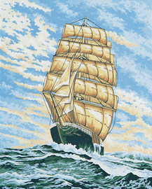 Under Full Sail Canvas only By Grafitec
